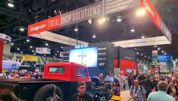 Restyling Stand Total Shop Solutions, Las Vegas, USA
