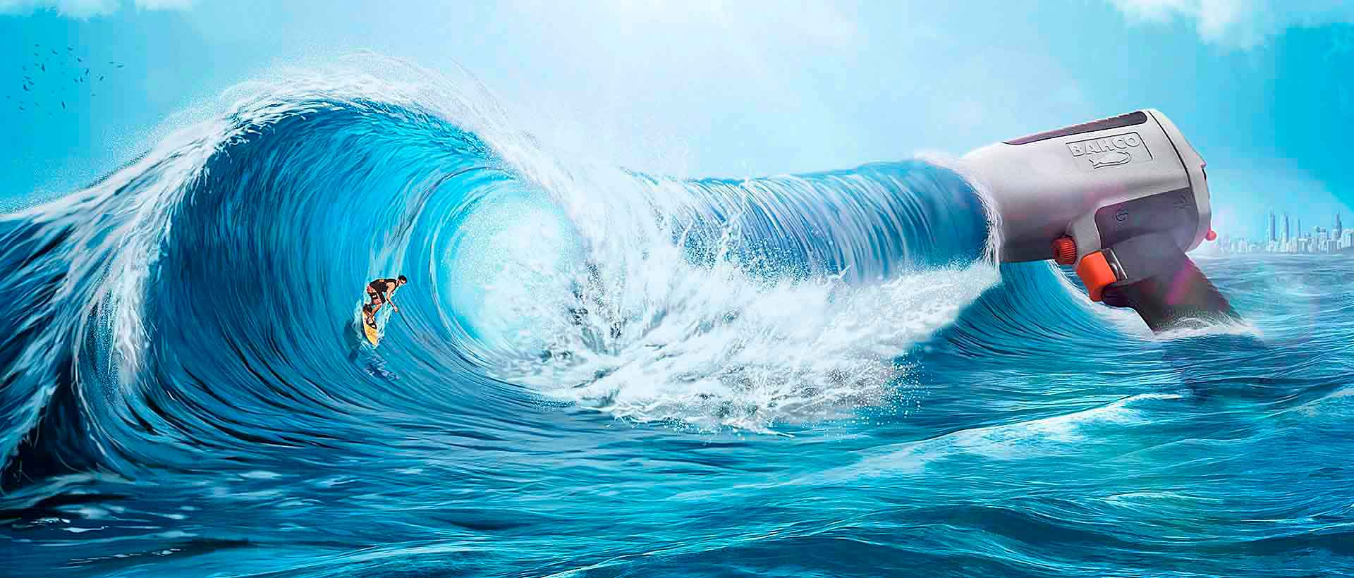 Surfer Ola  - Bahco