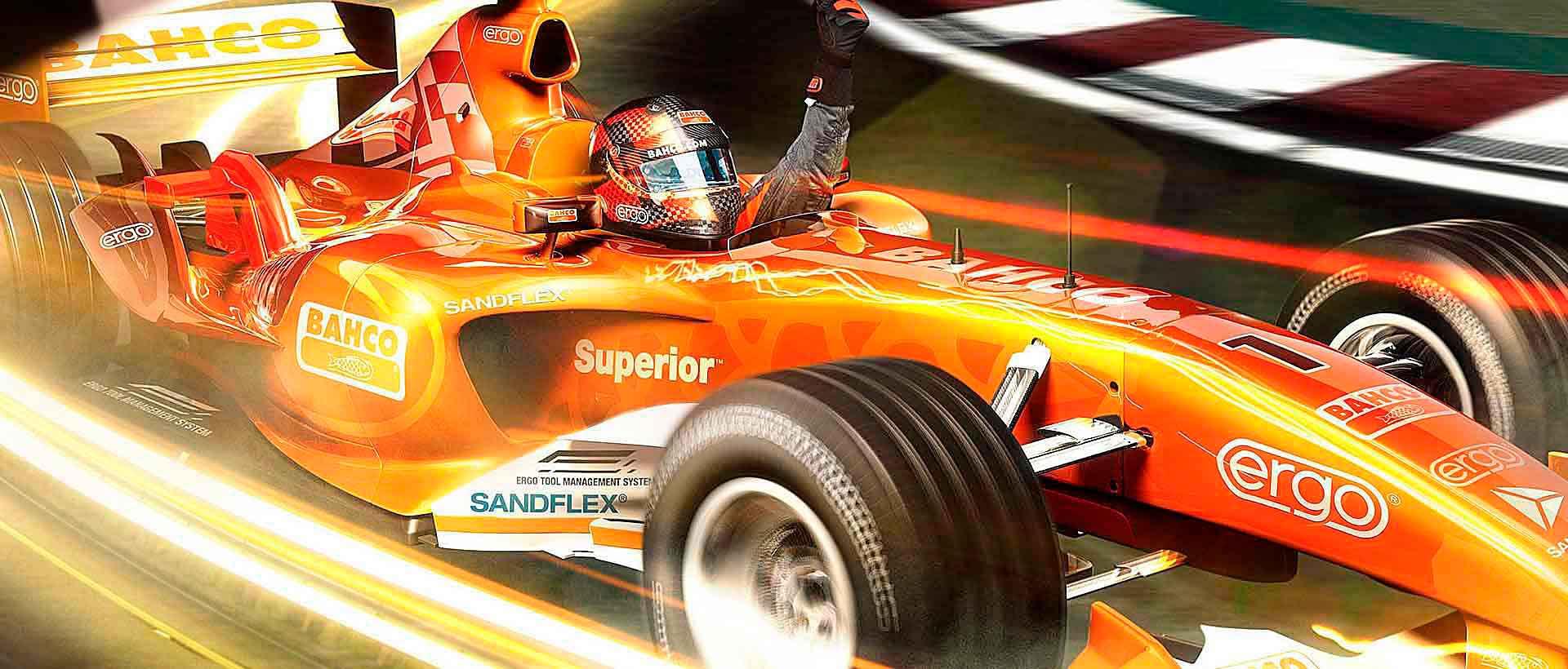F1 Car - Bahco